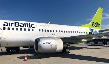 Review: AirBaltic Economy 737 Tallinn To Riga