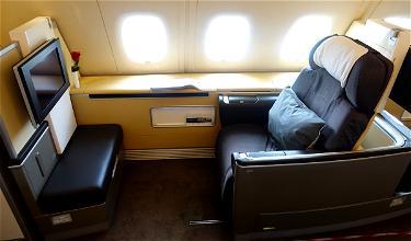 Lufthansa Releasing First Class Awards In Advance!