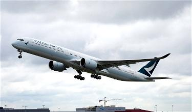 Uh Oh: Cathay Pacific Cutting Flights Due To Weak Demand