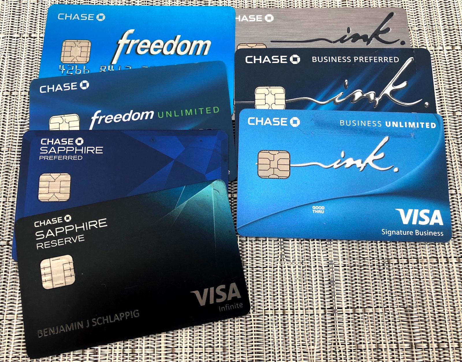 My Chase Credit Card Strategy (7) - One Mile at a Time