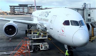 Whoa: Qantas 787 Flies To Fairbanks, Alaska