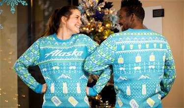 Wear An Ugly Sweater And Get Priority Boarding On Alaska