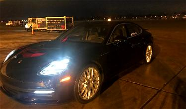 I Got A Porsche Ride From Delta! (And Probably Never Will Again)