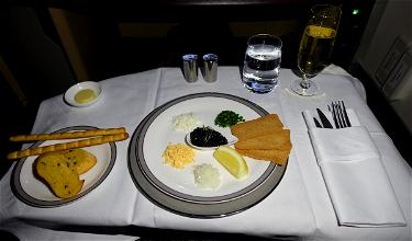 Singapore Airlines' $650 DIY First Class Meal (Caviar, Dom Perignon, And More)