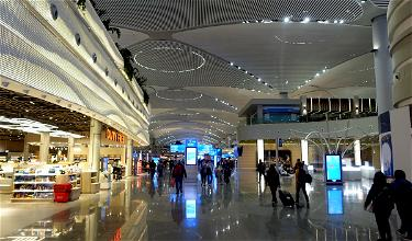 Istanbul's New Airport Is A Hot Beautiful Mess