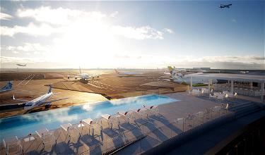 Heaven: The TWA Hotel's JFK Airport View Infinity Pool