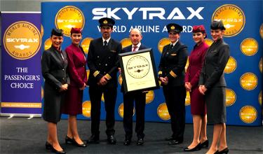 Qatar Airways Wins 2019 Airline Of The Year Award