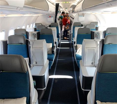 Review: Aer Lingus A321LR Business Class