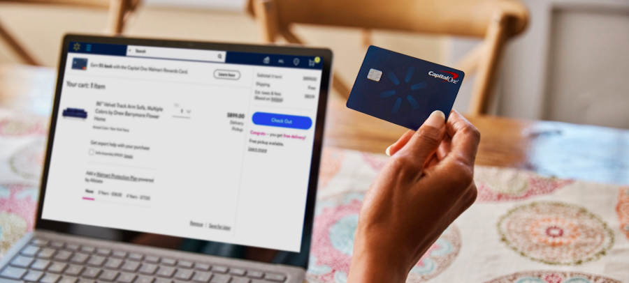Capital One Walmart Rewards Credit Card - One Mile at a Time