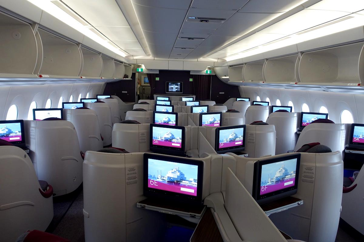 Qatar Airways' New Business Class Fare Families