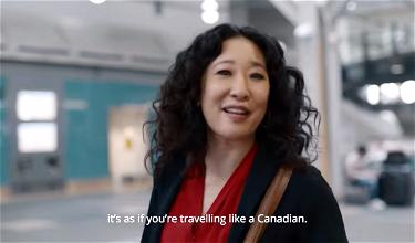 Air Canada Debuts Fun New Ad Starring Sandra Oh