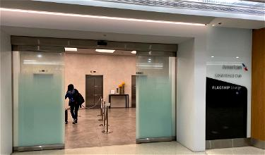 Live: American's New International Lounge Access Policy