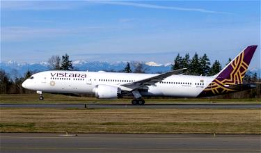Vistara Wants To Fly From India To The United States