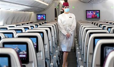 Qatar Airways Makes Face Shields Mandatory (In Addition To Face Masks)