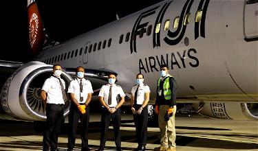 Fiji Airways 737's Epic Journey To Europe