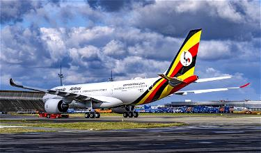 Uganda Airlines' Gorgeous New A330-800neo