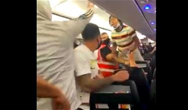 Spirit Airlines Brawl Leads To Onboard Tasing & Arrest