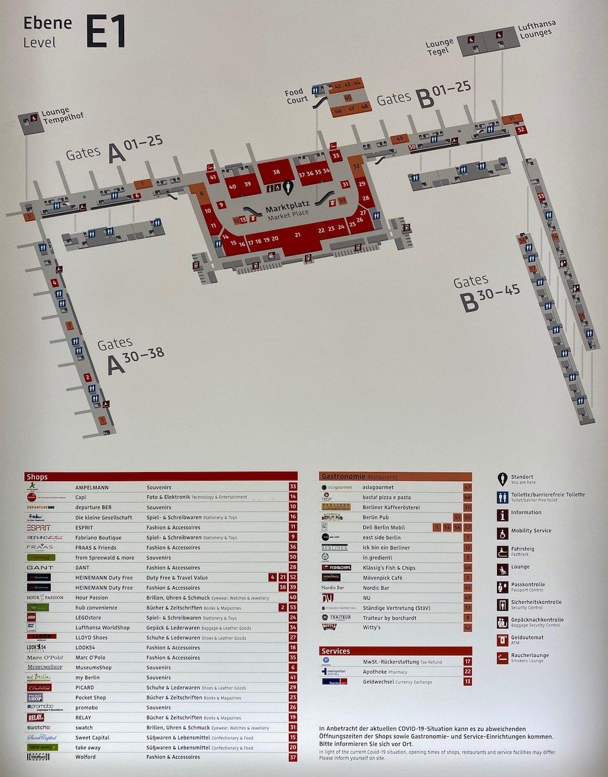 Review Lufthansa Lounge Berlin Brandenburg Airport   One Mile at ...