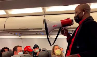 Trump Supporter Kicked Off Flight For Mask Joke? No, Not Quite…