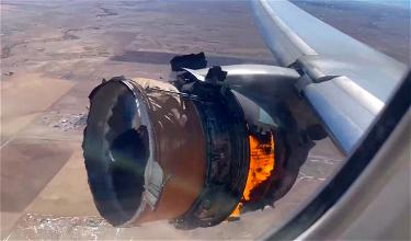 Terrifying: United Airlines 777 Suffers MAJOR Engine Failure