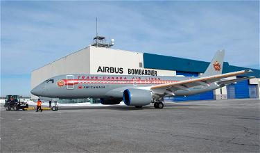 Gorgeous: Air Canada Airbus A220 In Retro Livery