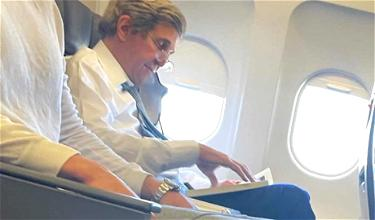 About John Kerry's American Airlines Mask Incident…