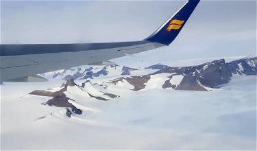 AWESOME: Icelandair's Antarctica Flight