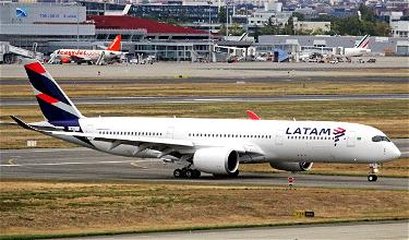 Ouch: LATAM Retiring Entire Airbus A350 Fleet