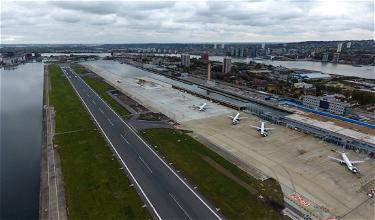 """Whoa: London City Airport Now Has A Remote """"Tower"""""""