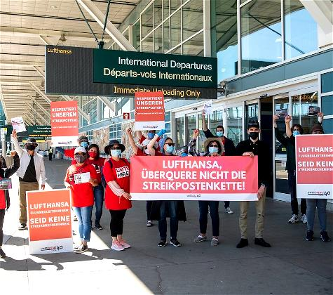 Lufthansa Crew Caught In Vancouver Hotel Union Dispute