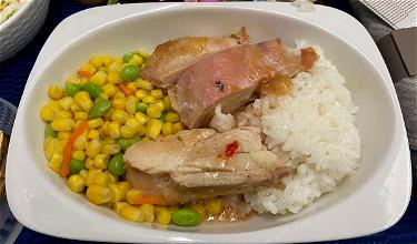 Review: United Airlines 787-9 Business Class (Oh, The Food…)