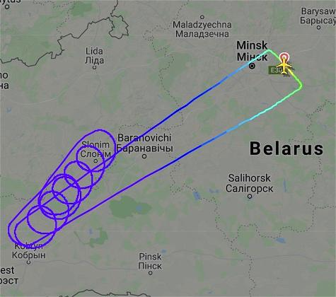 Oops: Belavia's 2.5 Hour Flight From Minsk To Nowhere