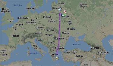 Revealed: Transcript Between Belarus ATC & Ryanair Pilots