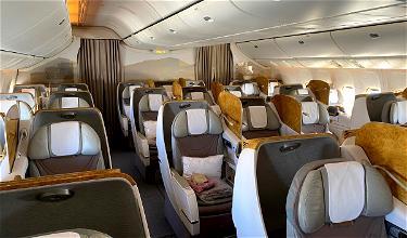 My VERY Empty Emirates Flight…