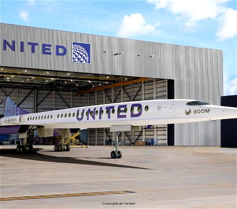 Whoa: United Airlines Orders Boom Overture Supersonic Jet