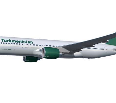 Turkmenistan Airlines' Fascinating New Boeing 777-200LR