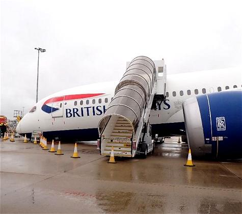 """Why A British Airways 787 """"Collapsed"""" At Heathrow"""
