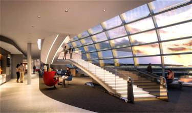 Gorgeous New Air France Lounge In Paris (CDG)