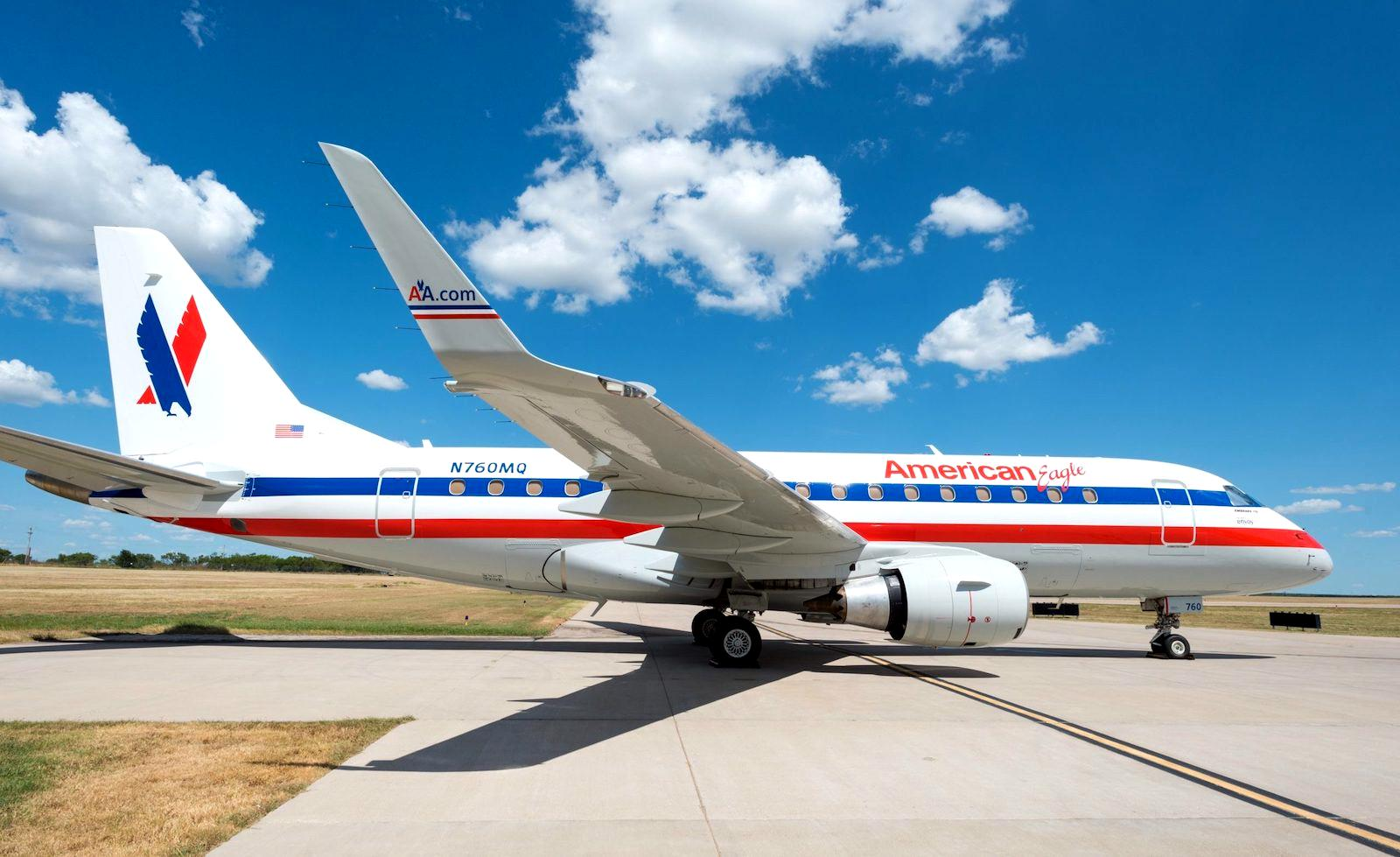 Swoon: American Eagle Heritage Livery Retro Jet