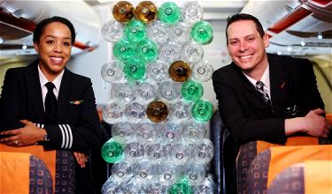 EasyJet's New Uniforms Are Made Of… Plastic Bottles?!