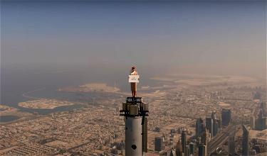 Wait, Emirates' Burj Khalifa Stunt Was Real?!?!