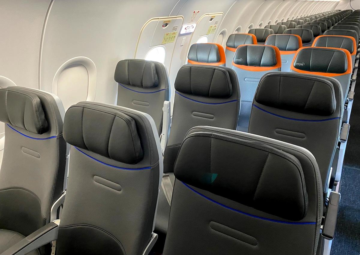 Review: JetBlue A320 Even More Space Seats (Restyled Cabin)