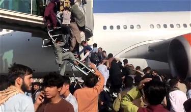 Heartbreaking Chaos At Kabul Airport