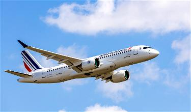 Gorgeous: Air France Unveils First Airbus A220-300
