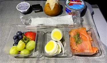 Thoughts On Recent Domestic First Class Meals