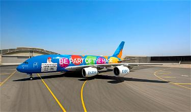 Emirates' Colorful Airbus A380 Expo 2020 Livery