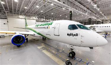 Iraqi Airways' Gorgeous New Airbus A220