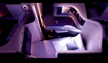 Air China's New Business Class Suite With Doors (Recaro CL6720 Seat)
