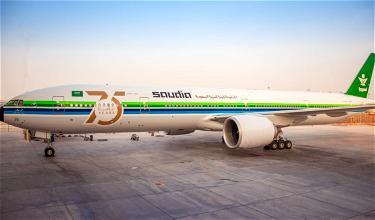 Saudia's Eye-Catching Boeing 777 Retro Livery