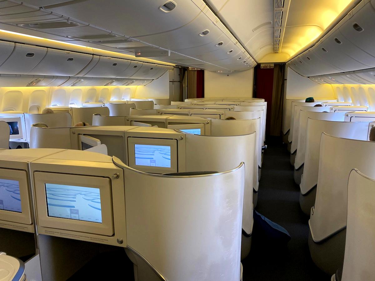 Review: Air France Business Class Boeing 777-200